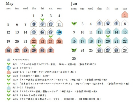 5月〜6月最新